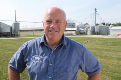 Keith Schoettmer, Tipton County, America's Pig Farmer of the Year 2015-16