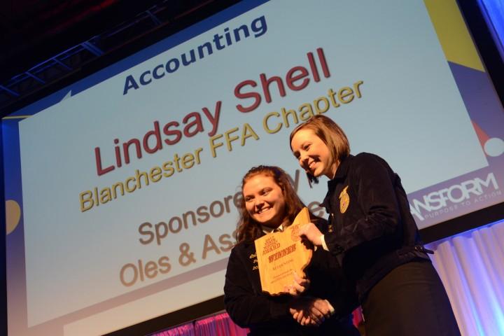 Accounting Lindsay Shell Blanchester FFA