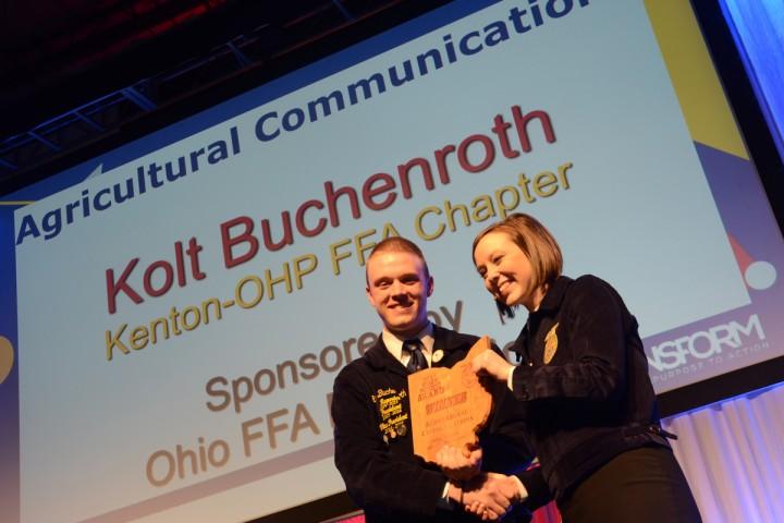 Agricultural Communications Kolt Buchenroth Kenton-OHP FFA