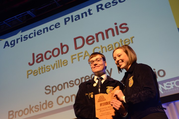 Agriscience Plant Research Jacob Dennis Pettisville FFA