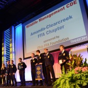 CDE winners were recognized