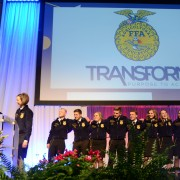 It was emotional time for the retiring state officers.