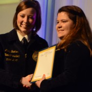 More than 900 Ohio FFA members got their State Degrees.