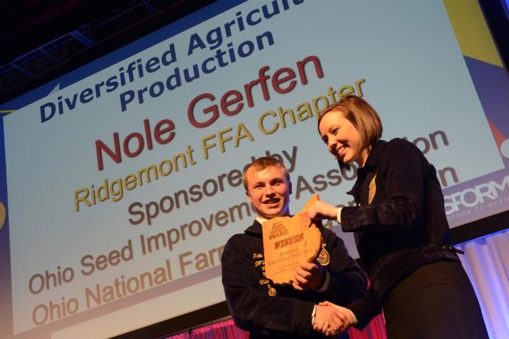 Diversified Agricultural Production Nole Gerfen Ridgemont FFA