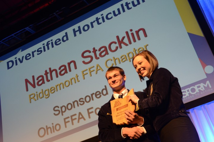 Diversified Horticulture Nathan Stacklin Ridgemont FFA