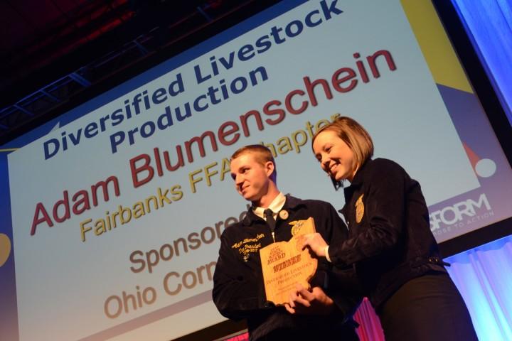 Diversified Livestock Production Adam Blumenschein Fairbanks FFA