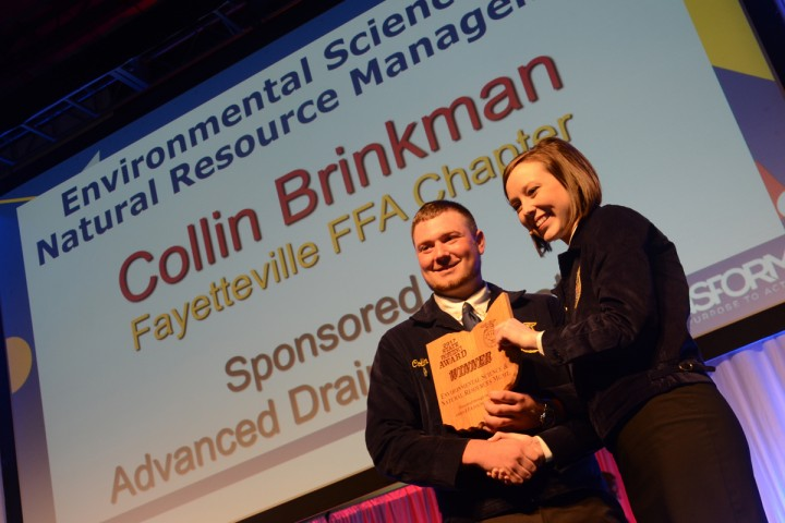 Environmental Science and Natural Resource Management Collin Brinkman Fayetteville FFA