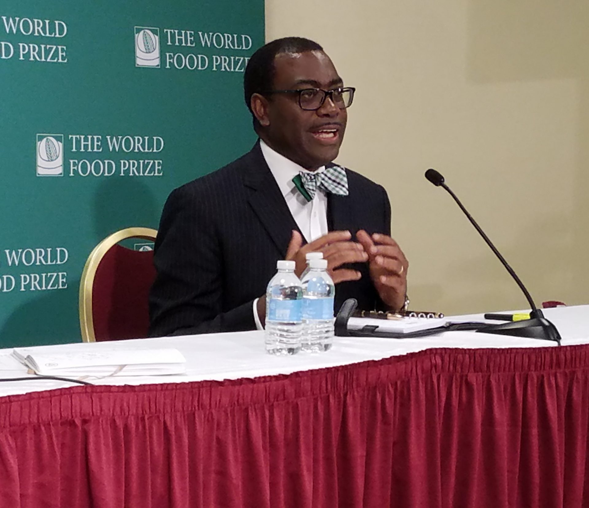 world food prize Three world food prize laureates are demanding immediate action to address the invasion of armyworms which has caused destruction to.